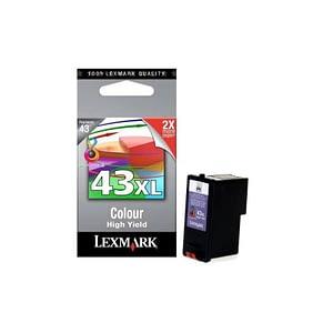 Cartouche couleur haute capacité Lexmark N 43XL (18YX143E)