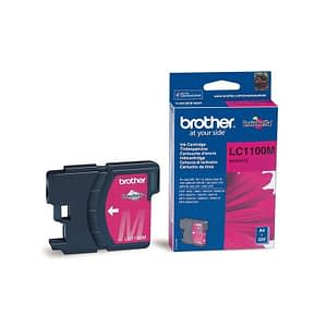 Cartouche d'encre Brother magenta (LC1100M)