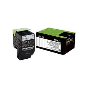 Cartouche d'encre d'origine Lexmark Noir 702K - 1000 pages Standard