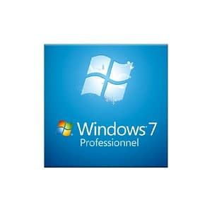 Microsoft Windows 7 Professionnel SP1 32 bits (français) - Licence OEM