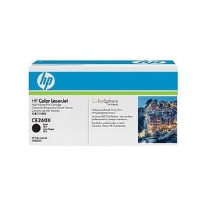 Cartouche authentique de toner noir haute capacité HP LaserJet 649X (CE260X)