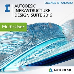 Licence Autodesk Infrastructure Design Suite Standard 2016 - Multi-User