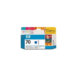 Cartouche d'encre bleue HP 70 130-ml (C9458A)