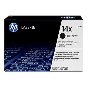 Cartouche authentique de toner noir haute capacité HP LaserJet 14X (CF214X)