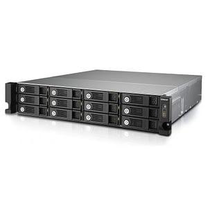 Serveur NAS professionnel 12 baies Rackable QNAP TS-1253U-RP avec alimentation redondante