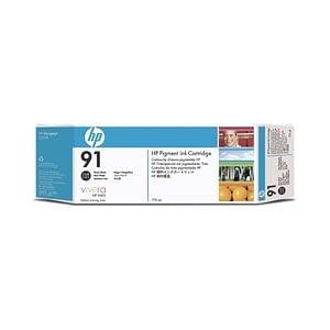 Cartouche d'encre à pigments noir photo HP 91 775 ml (C9465A)