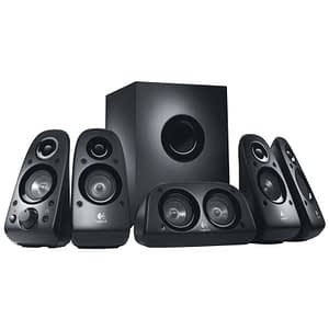 Logitech Speaker System Z506 - 5.1 compatible PS3 / Xbox 360 / Wii et iPod (980-000431)