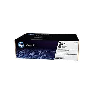 Cartouche authentique de toner noir haute capacité HP LaserJet 25X (CF325X)